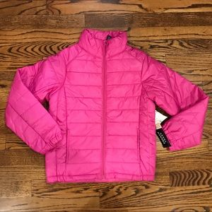 New FRENCH TOAST Girls Pink Puffer Jacket M 10